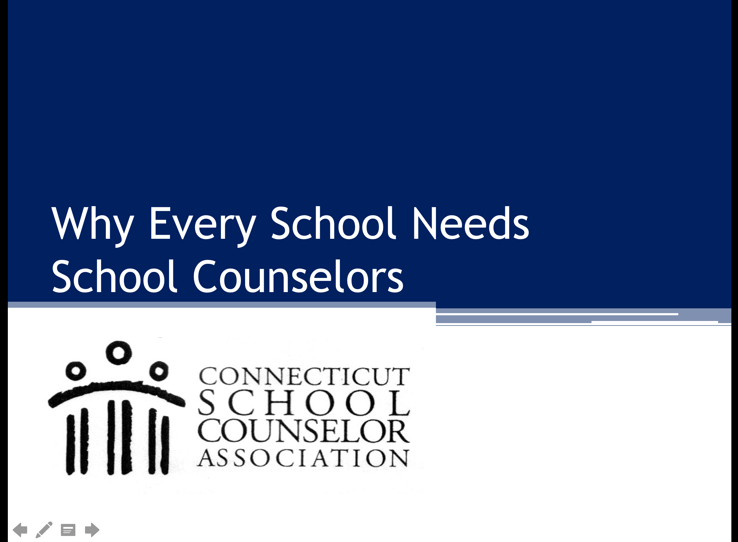 Connecticut School Counselor Association Government Relations